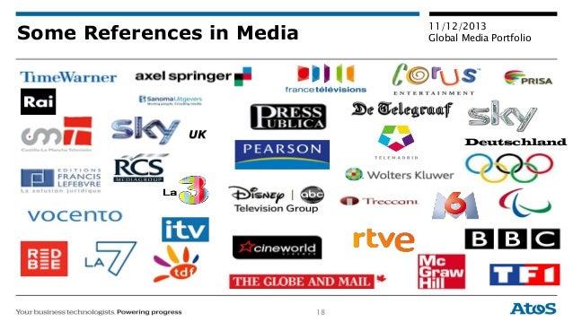 18 11/12/2013 Global Media PortfolioSome References in Media Deutschland UK