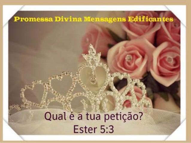 Promessa Divina Mensagens Edificantes - facebook