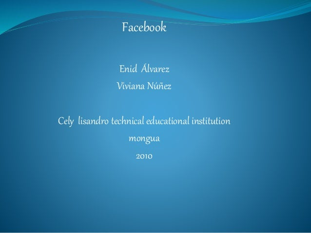 Facebook Enid Álvarez Viviana Núñez Cely lisandro technical educational institution mongua 2010