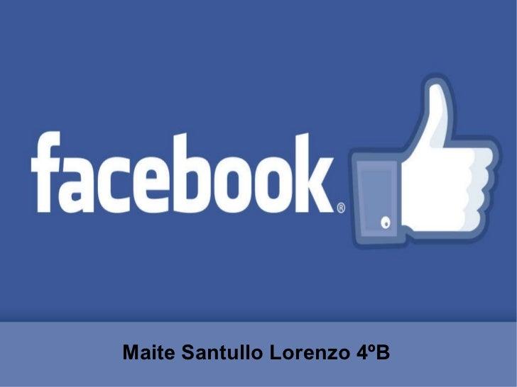 Maite Santullo Lorenzo 4ºB