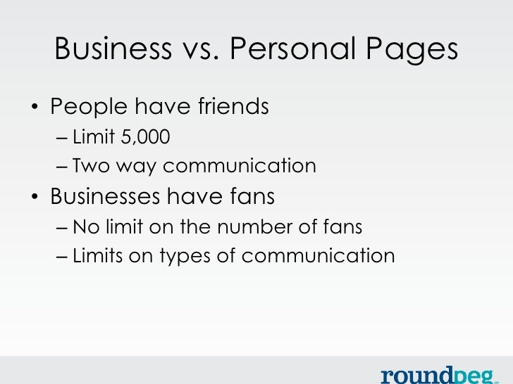 Facebook for Small Business Slide 3