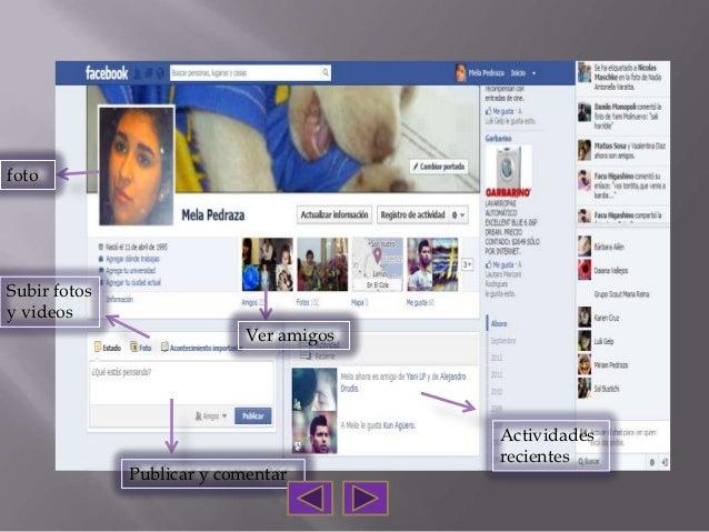 fotoSubir fotosy videos                            Ver amigos                                         Actividades         ...