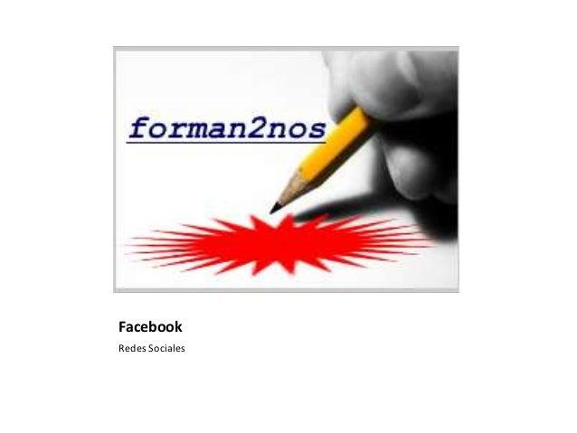 FacebookRedes Sociales