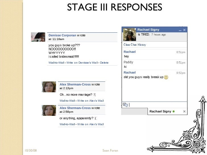 06/05/09 Sean Foran STAGE III RESPONSES