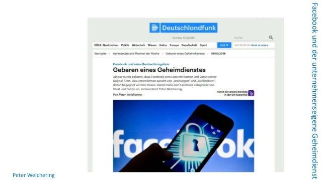 Wie Facebook den demokratischen Rechtsstaat mit nachrichtendienstlichen Mitteln bedroht Slide 2