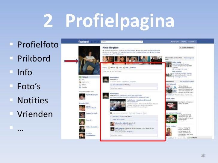 2Profielpagina<br />Profielfoto<br />Prikbord<br />Info<br />Foto's<br />Notities<br />Vrienden<br />…<br />25<br />