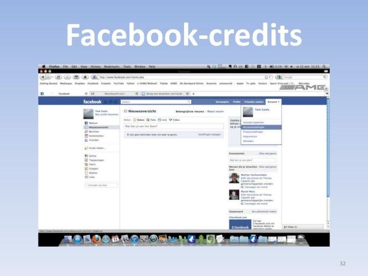 Facebook-credits<br />32<br />