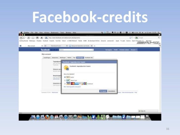 Facebook-credits<br />33<br />