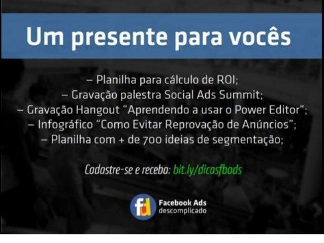 Facebook Ads: Inteligência em anúncios
