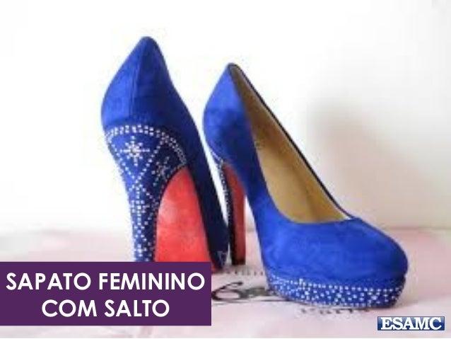 SAPATO FEMININO COM SALTO