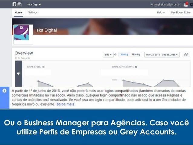 Tipos de anúncios no Facebook: •Engajamento com Post; •Like Ads; •Dark Post; •Cliques para o site; •Conversões no site; •M...