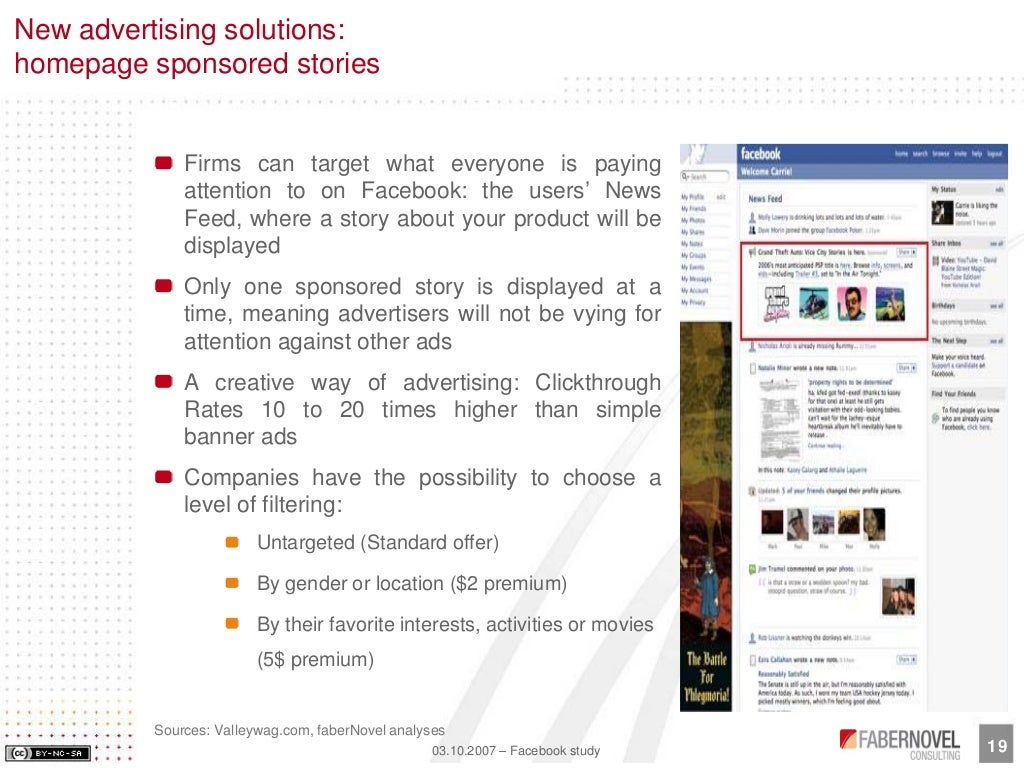 Facebook Mission and Vision Statement Analysis