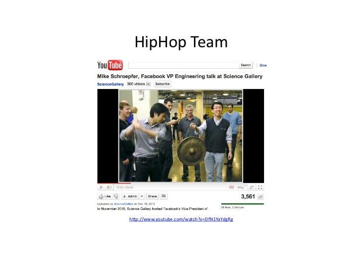 HipHop Team h/p://www.youtube.com/watch?v=DfN1YaYdgRg