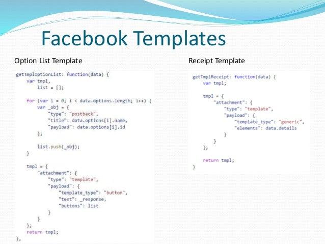 Facebook Messenger Platform Framework