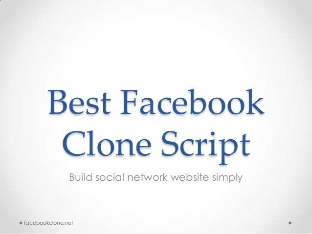Best FacebookClone ScriptBuild social network website simplyfacebookclone.net
