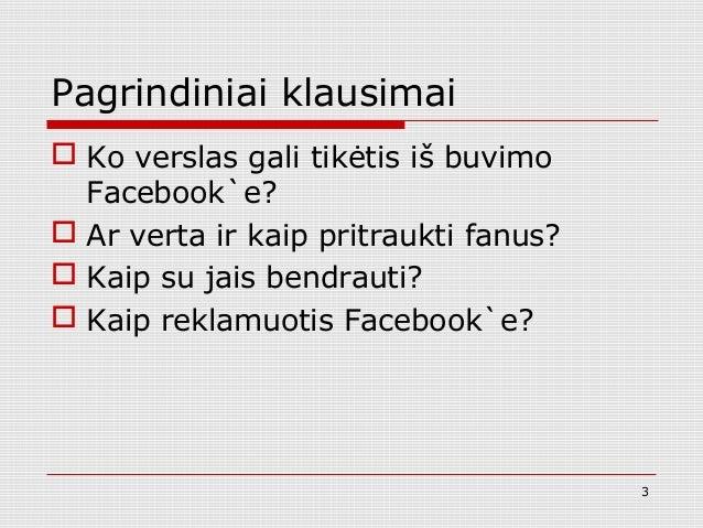 Facebook rinkodara Lietuvos elektroniniams verslams Slide 3