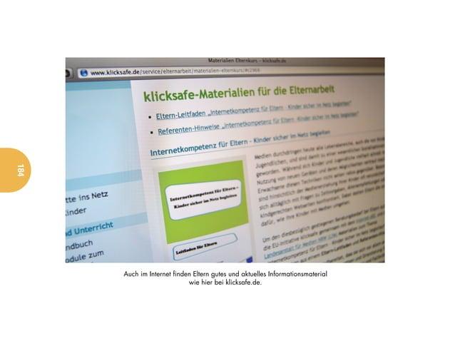 184      Auch im Internet finden Eltern gutes und aktuelles Informationsmaterial                            wie hier bei k...