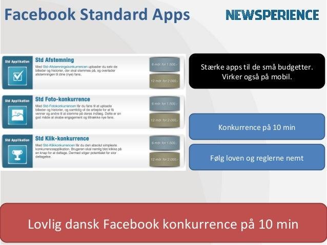 Facebook Standard Apps                             Stærke apps til de små budgetter.                                  Virk...