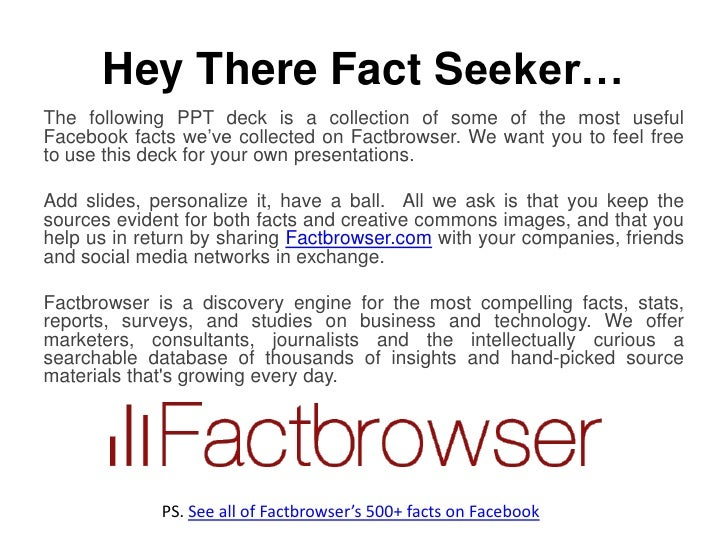 Facebook Facts for the IPO Slide 2