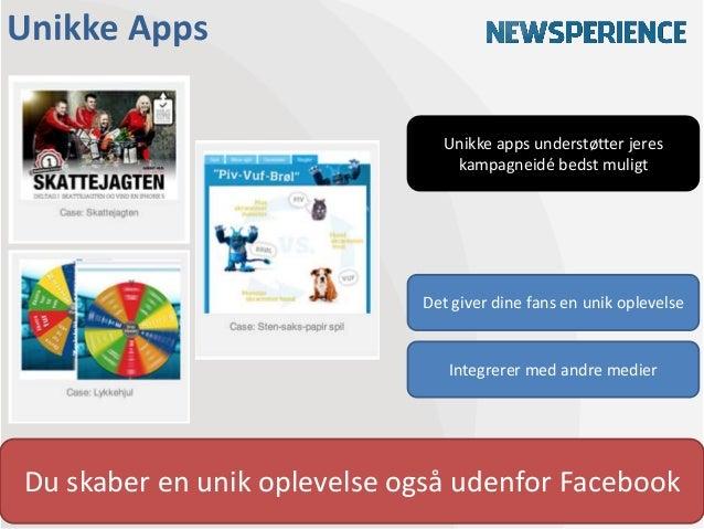 Unikke Apps                                Unikke apps understøtter jeres                                 kampagneidé beds...