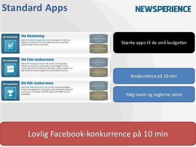 Standard Apps                             Stærke apps til de små budgetter                                 Konkurrence på ...