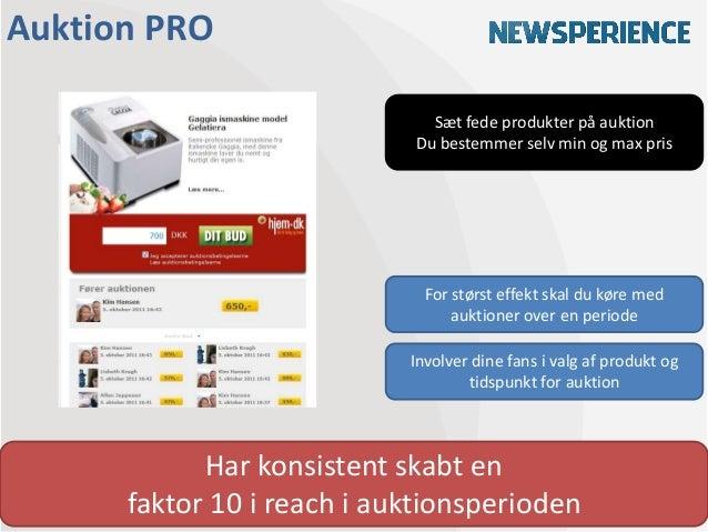 Auktion PRO                              Sæt fede produkter på auktion                            Du bestemmer selv min og...