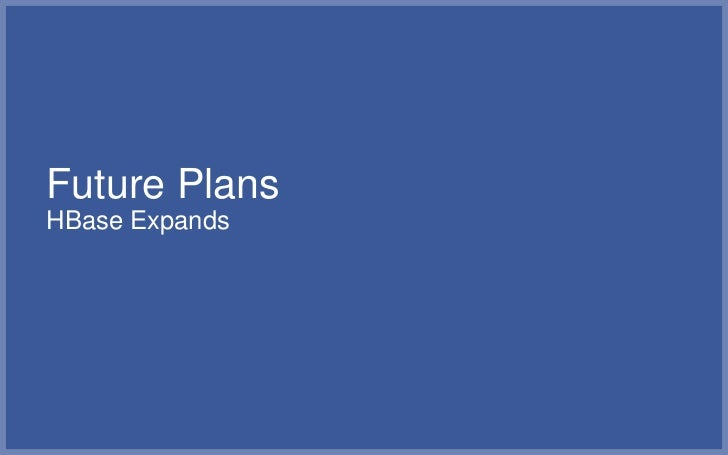 Facebook Insights Goes Real-Time▪   Recently launched real-time analytics for social plugins on top of    HBase▪   Publish...