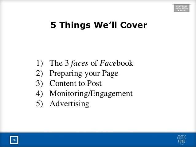 Mayo Clinic Social Media Residency: Facebook Best Practices Slide 2