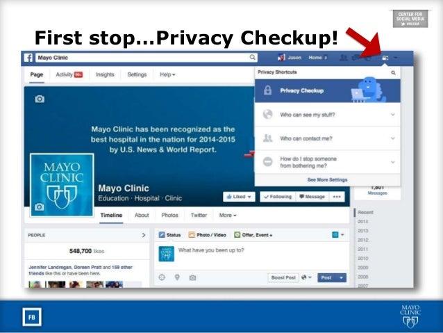 Mayo Clinic Social Media Residency: Facebook Best Practices Slide 3