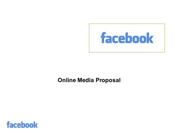 Online Media Proposal