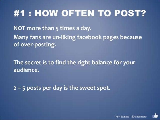Posting Secrets for Facebook Slide 2