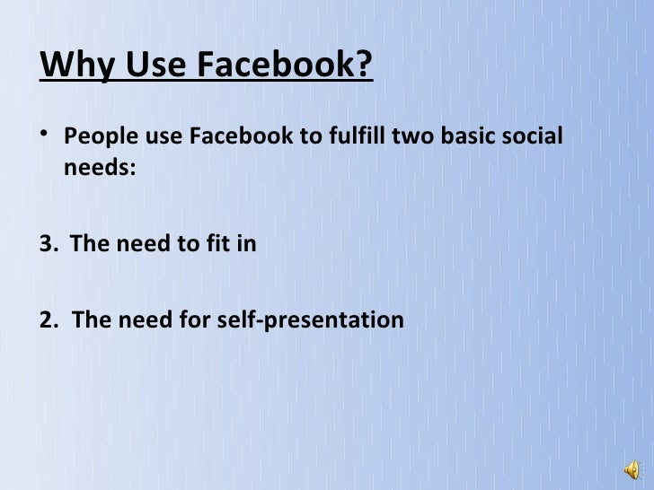 Facebook Ppt Slides