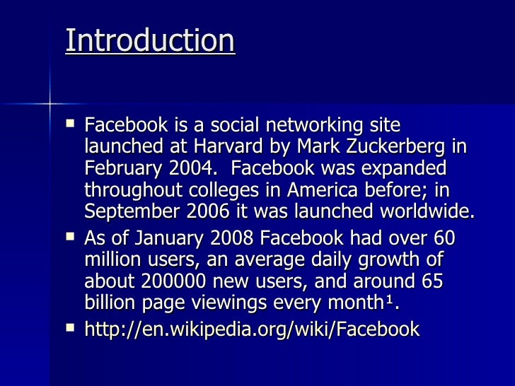 facebook and privacy 2 essay Thirteen years after launching and less than five years after hitting 1 billion, facebook now has 2 billion monthly active users if getting to 1 billion.
