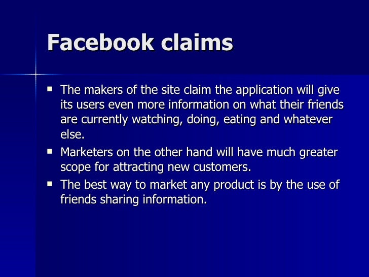 facebooks privacy issue A look at the default privacy settings and issues of facebook and how the overall experience differs from twitter.