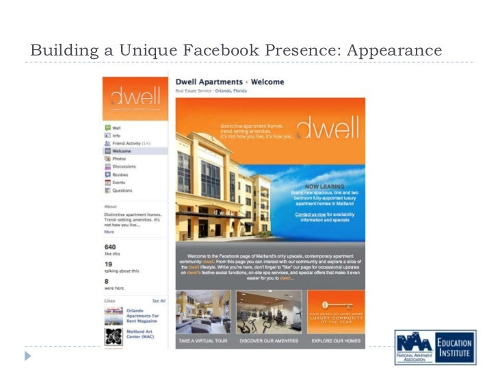 Building a Unique Facebook Presence: Appearance