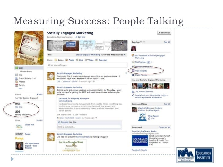 Measuring Success: People Talking