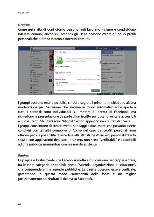 Facebook e pubblica amministrazione d224edde297