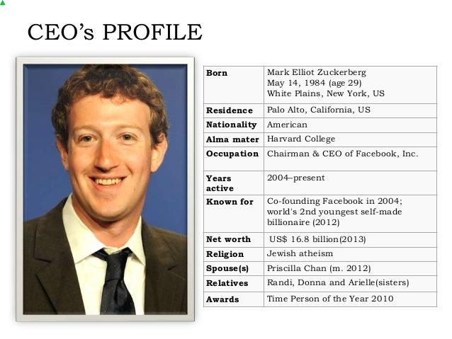 Facebook - Strategic Planning