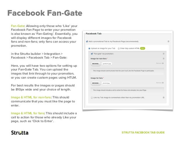 GATE Result Facebook: Facebook Tab Guide! HOW TO: Set Up Your Tab & Fan-Gate