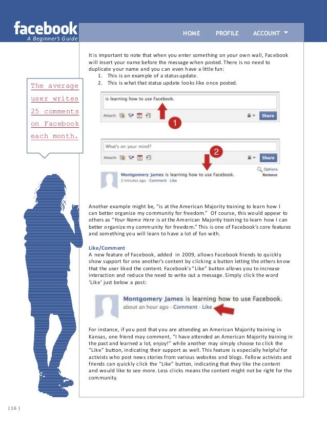 Facebook Tutorial For Beginner's