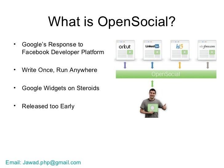 Facebook vs Open Social Slide 2