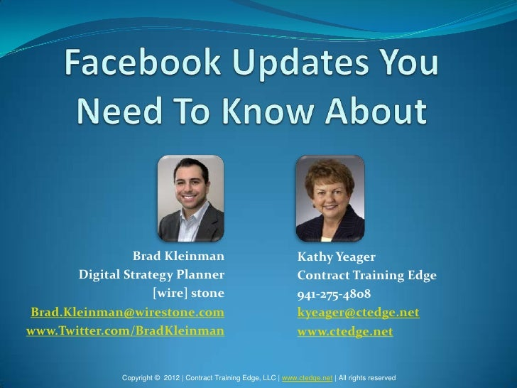 Brad Kleinman                                        Kathy Yeager       Digital Strategy Planner                          ...