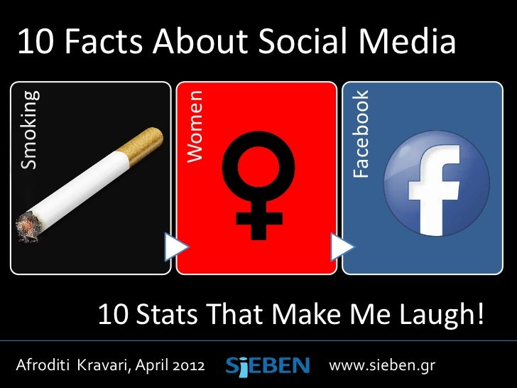 10 Facts About Social Media                        WomenSmoking                                  Facebook           10 Sta...
