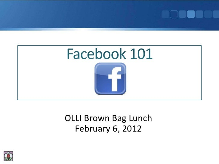 OLLI Brown Bag Lunch  February 6, 2012