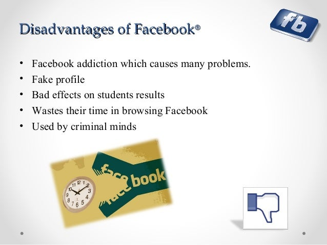 effects of facebook addiction on students