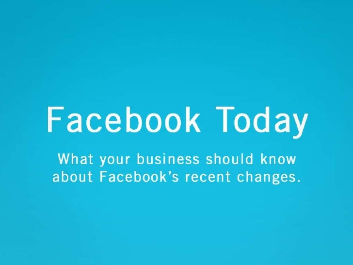 Facebook 2010<br />What your business should know about Facebook's recent changes.<br />