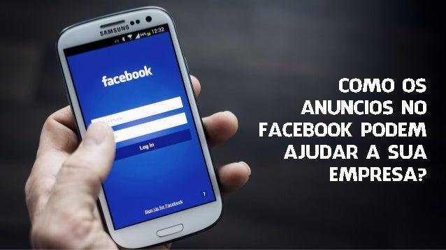 #PANORAMA de usuários mensais ativos O Facebook tem atualmente