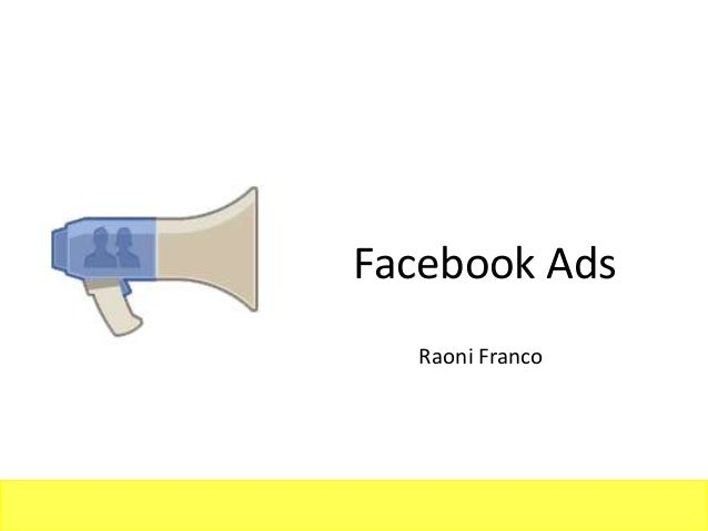 Facebook Ads  Raoni Franco