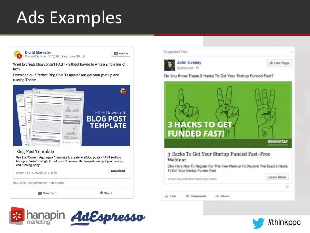 Facebook Ads How To Build A Funnel For Sales Not Likes - Digital marketer facebook ad template