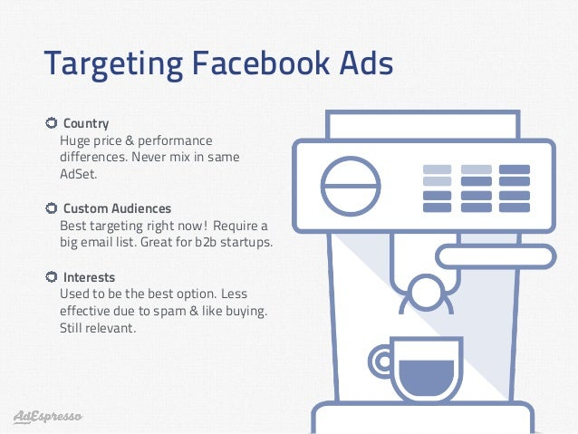 Resultado de imagen de targeting facebook ads